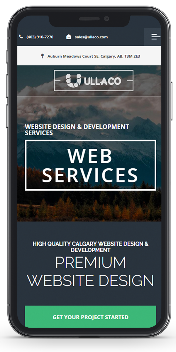 Calgary Website Design Mobile Responsive Design & Development Ullaco responsive web design